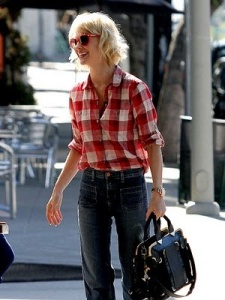 plain flannel shirt streetstyle